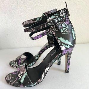 🔥2 x $25🔥Mercer 6 1/2 double strap/zippered heel